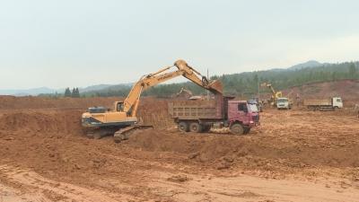 井冈山产业园碧溪园区项目建设稳步推进