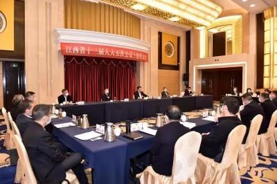刘奇书记参加上饶代表团审议,要求上饶坚定不移加快打造区域中心城市