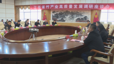 省政府调研组来山调研竹产业发展情况