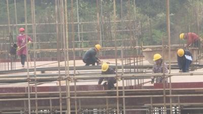 井冈山党校、民兵、特巡警训练基地综合体建设项目进展顺利