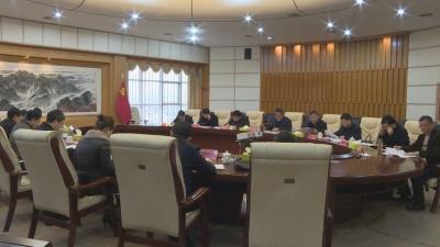 吉安市政府调研组来我市专题调研竹产业发展工作