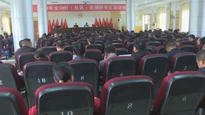 2021年全山村(社区)党组织书记培训班圆满完成