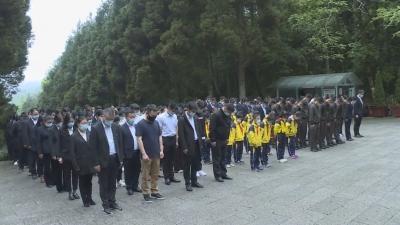 网络中国节·清明   茨坪镇开展清明祭奠英烈活动