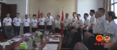 徐彦峰、夏志强带领各候选人与人大代表见面