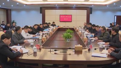 吉水县部分重点项目对接座谈会召开,县委书记袁守旺,县委副书记、县长陈克龙出席会议并讲话