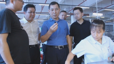 【今日吉水】县委书记袁守旺深入工业园区调研指导