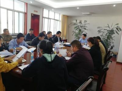 吉水县召开城市功能与品质提升工作调度会