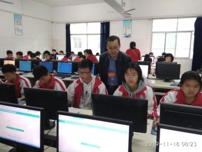 吉水二中精心组织参加全省中小学生网络安全知识竞赛活动