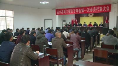 枫江镇召开红十字会第一次会员代表大会