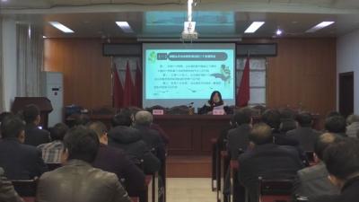 县委宣讲团到县卫健委、乌江镇宣讲党的十九届四中全会精神