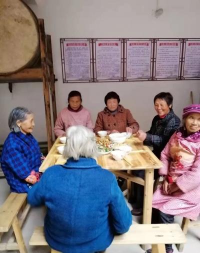 【暖新闻•江西2019】白沙镇大力推进农村互助养老之家建设