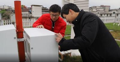 吉水县气象局:巡检维护设备 保障汛期气象服务