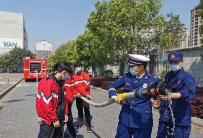 """开学啦!!吉水消防救援大队""""五个一""""提升学校消防安全指数"""