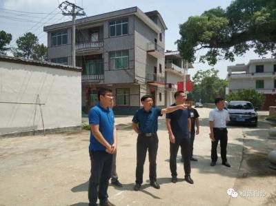 李长生到白沙镇调研指导美丽乡村建设、农业产业化工作