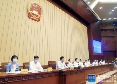 十三届全国人大常委会第二十次会议表决通过香港特别行政区维护国家安全法 习近平签署主席令予以公布 表决通过关于增加香港特别行政区基本法附件三所列全国性法律的决定 栗战书出席会议