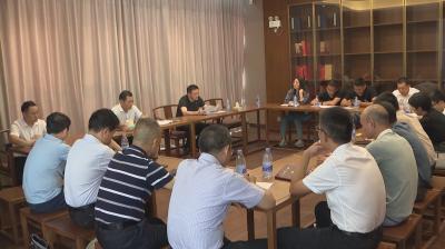 袁守旺、陈克龙现场调度吉安•中国进士文化园建设工作