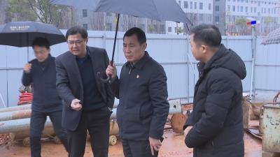 县委书记袁守旺调研全县污水处理工作