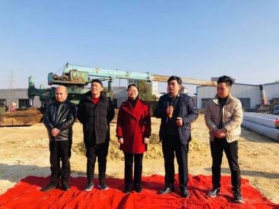 卓讯电子新厂房开工奠基仪式在八都工业园区举行