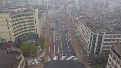 文水路道路管网双提升:刷新城市颜值  提升城市功能