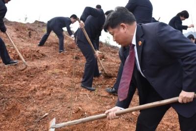 吉水县人民检察院建成全市首个公益诉讼生态修复基地
