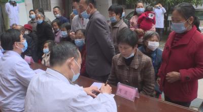 农工党吉安市委会到我县开展义诊公益活动