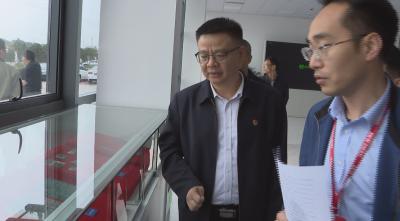县委副书记、县长段恩雄现场调度重点项目推进情况