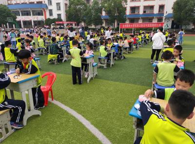 吉水县进士学校举行第二届围棋对抗赛
