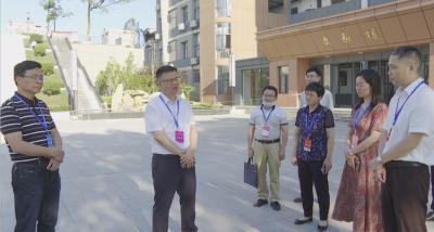 县委副书记、县长段恩雄视察高考考务工作