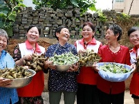 【网络中国节·端午】江西吉水:粽叶飘香迎端午