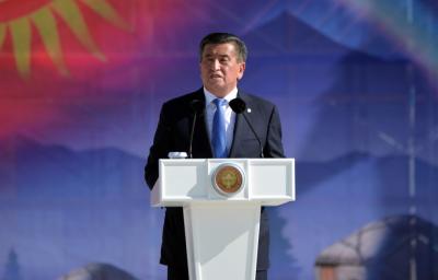 吉尔吉斯斯坦总统宣布辞职