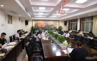 徐昭国主持召开区政府第41次常务会议