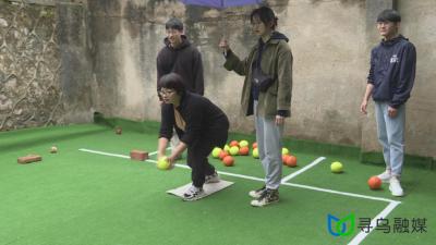 """我县举行""""体彩杯""""草地滚球比赛"""