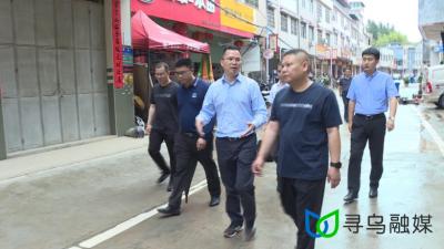 杨永飞到留车镇、龙廷乡调研圩镇项目建设情况