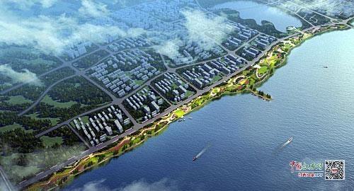 赣江市民公园将增一条景观绿化带