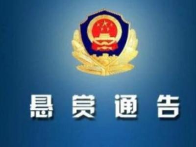 悬赏2万元!江西警方发布悬赏通告 此人涉嫌犯罪被追捕
