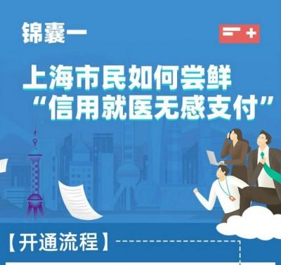 """银联助力上海成为全国首个""""信用就医 无感支付""""试点城市"""